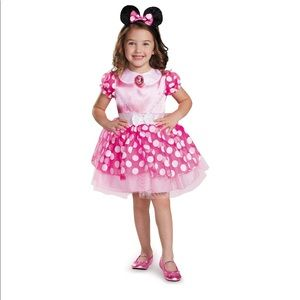 Other - Toddler Girls Minnie Mouse Halloween Costume Pink